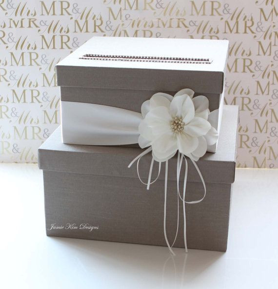Best ideas about Wedding Card Boxes DIY . Save or Pin Wedding Card Box Wedding Money Box Gift Card Box Custom Now.