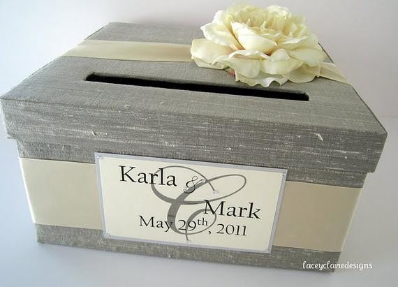 Best ideas about Wedding Card Boxes DIY . Save or Pin Wedding Card Box Wedding Card Holder Wedding Card Money Box Now.