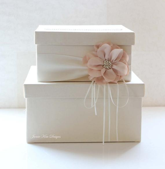 Best ideas about Wedding Card Boxes DIY . Save or Pin Wedding Card Box Wedding Money Box Gift Card Box Custom Made Now.