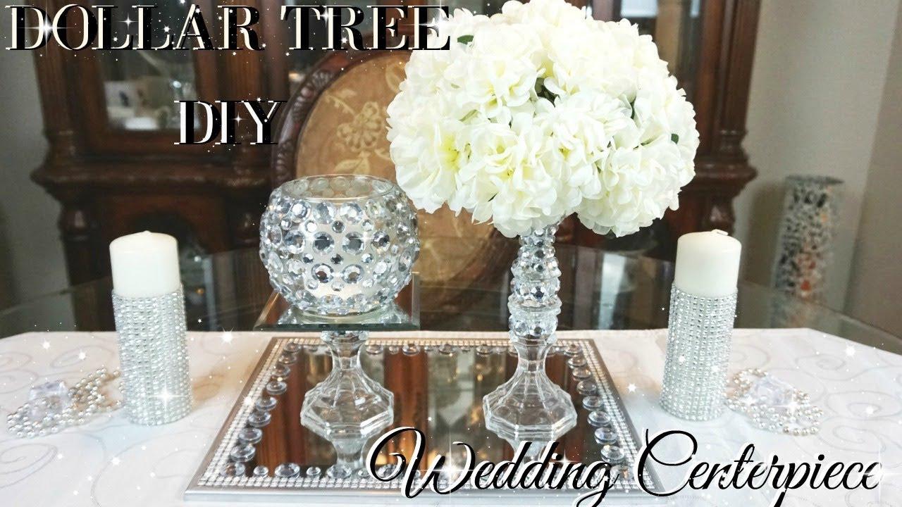 Best ideas about Wedding Centerpieces Ideas DIY . Save or Pin DIY DOLLAR TREE WEDDING CENTERPIECE 💎 DIY DOLLAR STORE Now.