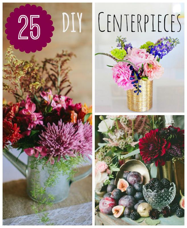 Best ideas about Wedding Centerpieces Ideas DIY . Save or Pin 25 DIY Wedding Centerpieces Now.