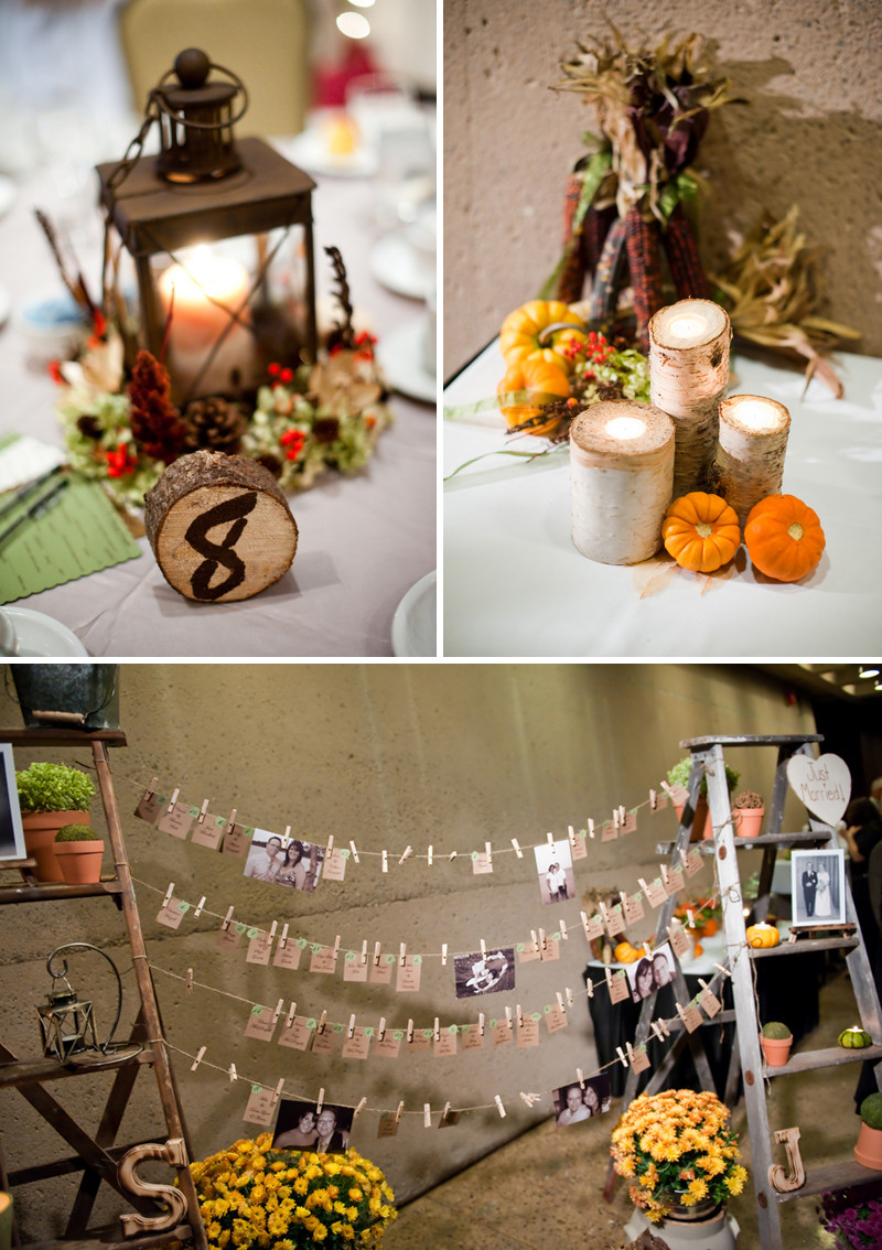 Best ideas about Wedding Centerpieces Ideas DIY . Save or Pin Rustic DIY Fall Wedding Every Last Detail Now.