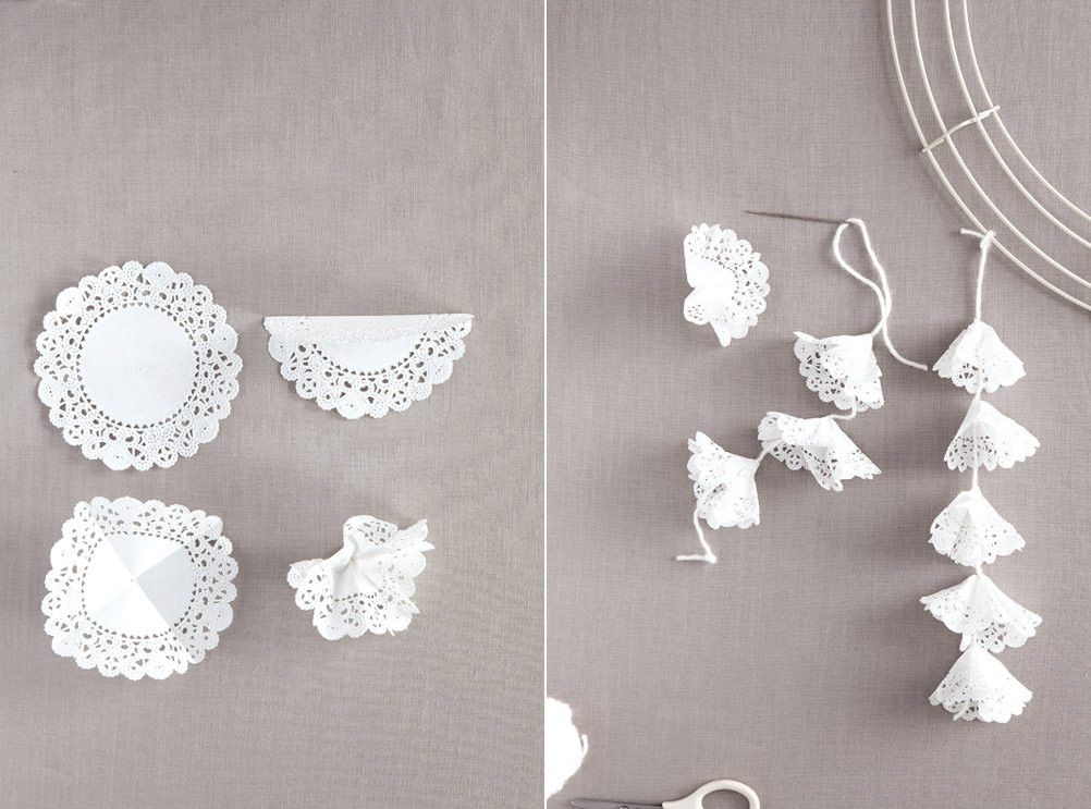Best ideas about Wedding Craft Ideas . Save or Pin DIY Paper Doily Craft Ideas from Martha Stewart Weddings Now.