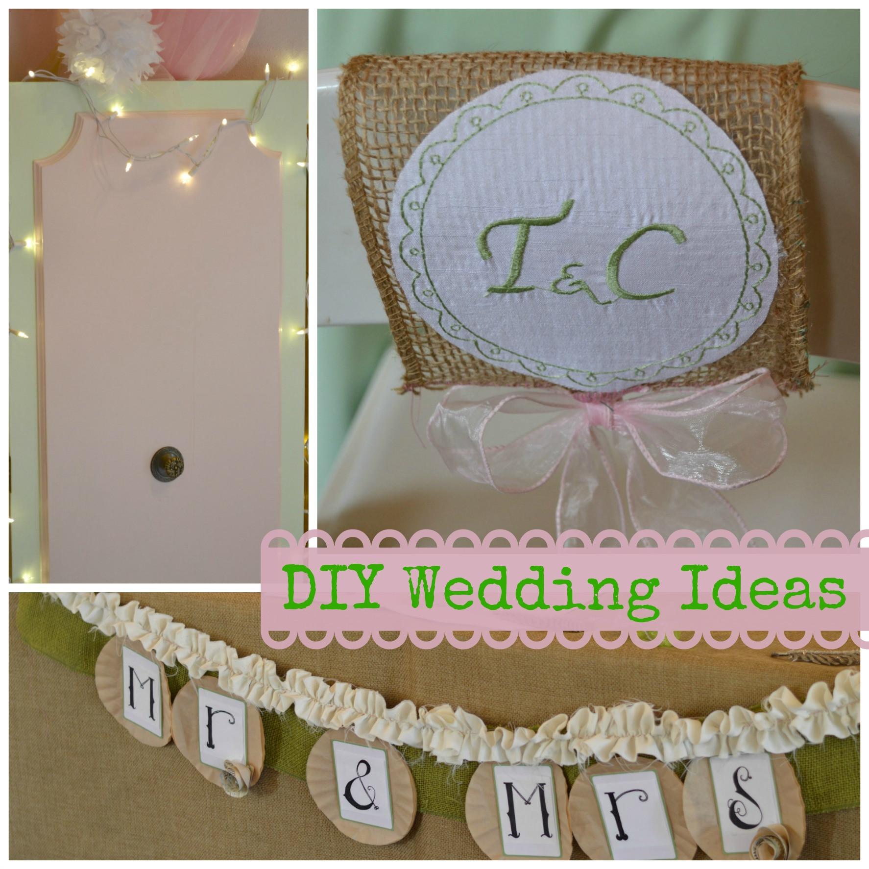 Best ideas about Wedding Craft Ideas . Save or Pin DIY Wedding Ideas Craft Dictator Now.