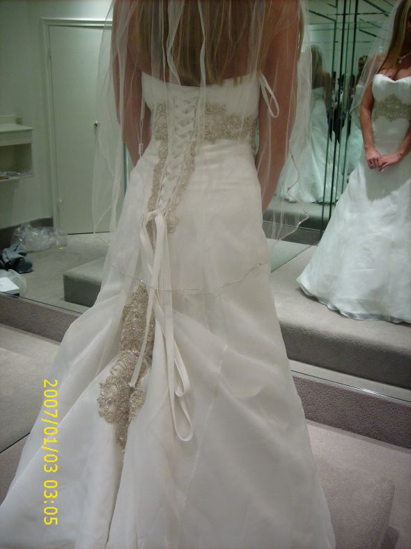 Best ideas about Wedding Dress Bustle DIY . Save or Pin Does this bustle look weird Now.