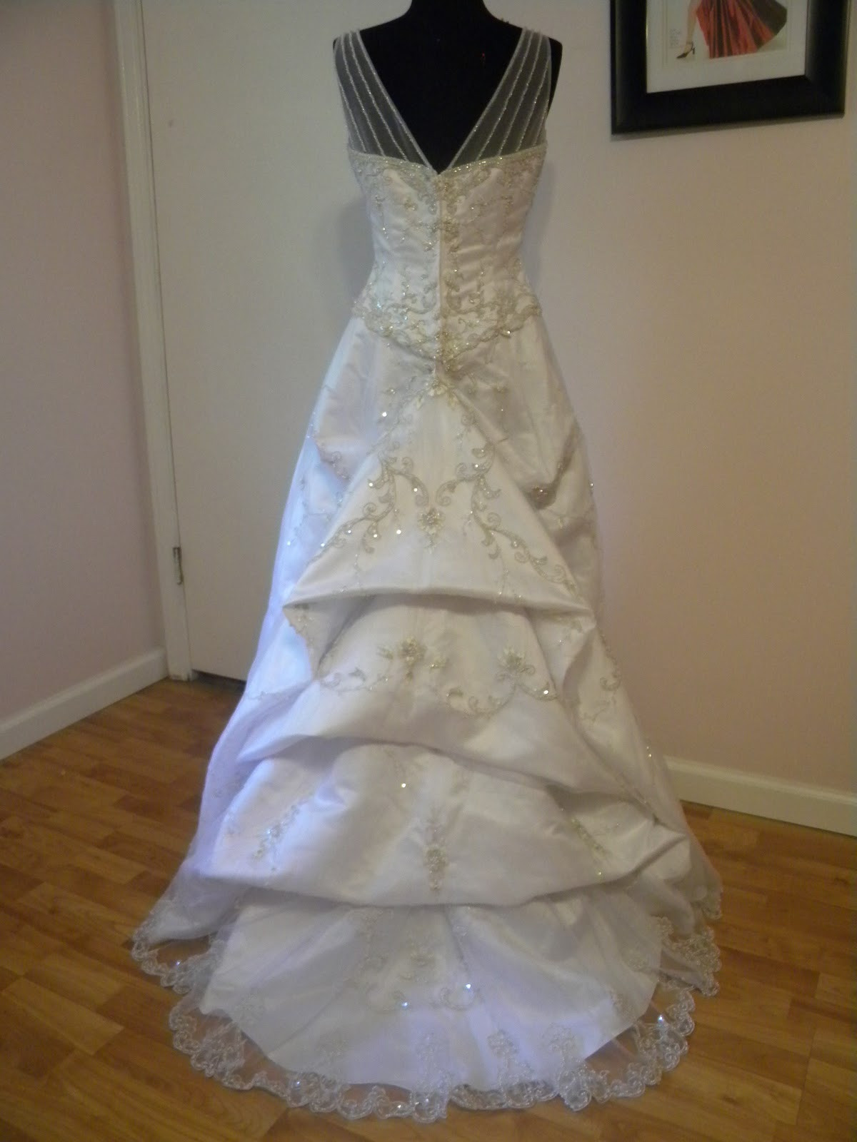 Best ideas about Wedding Dress Bustle DIY . Save or Pin Hustle your bustle Now.