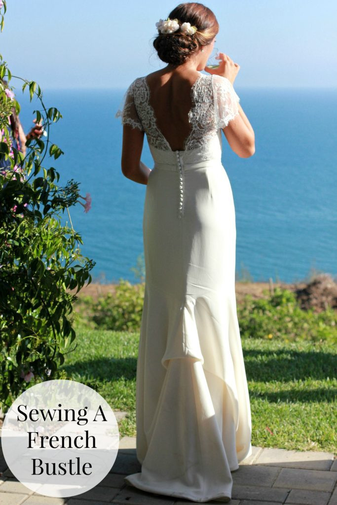 Best ideas about Wedding Dress Bustle DIY . Save or Pin Sewing a French Bustle or Underbustle Now.