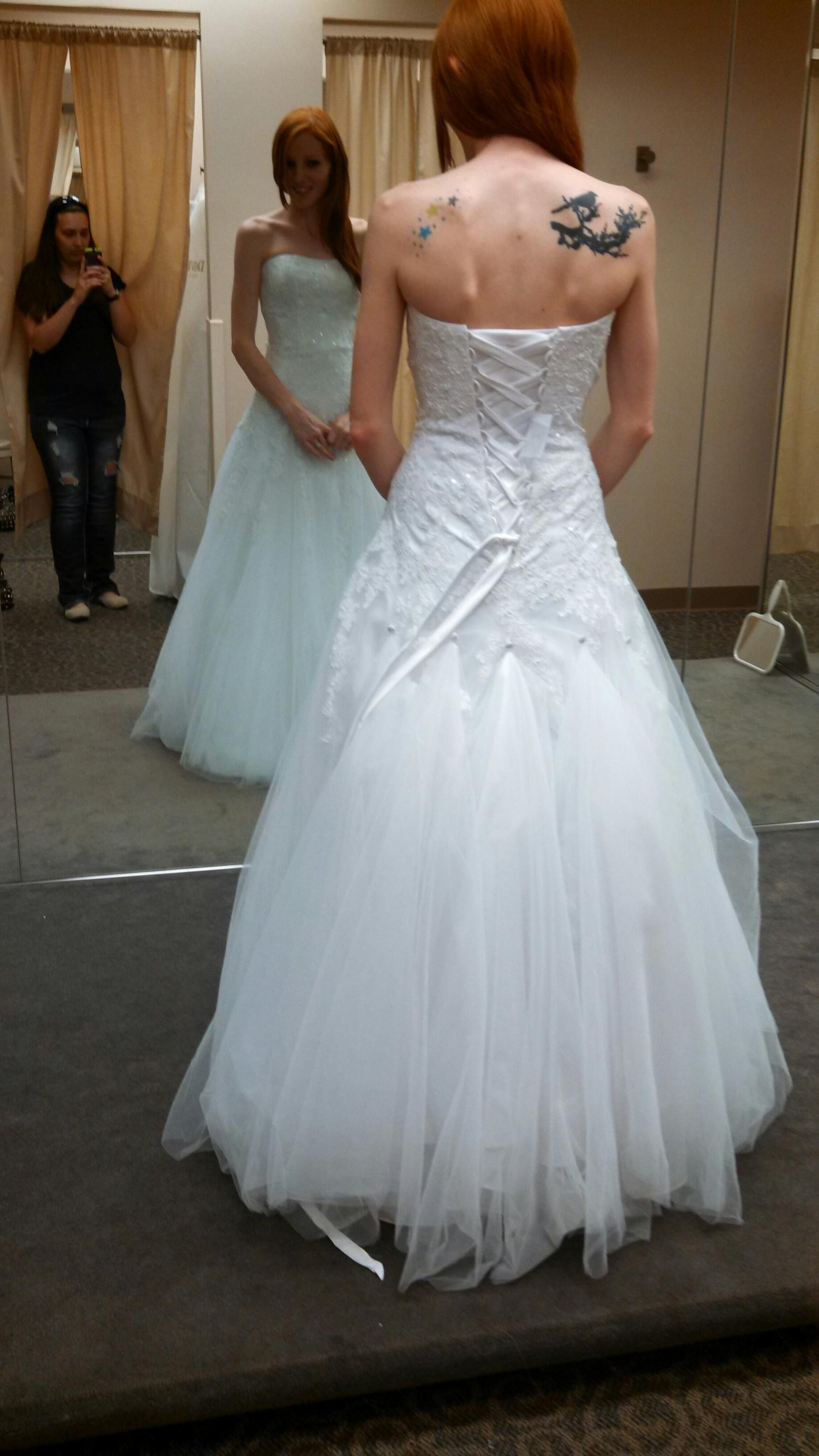 Best ideas about Wedding Dress Bustle DIY . Save or Pin Bustle for tulle wedding dress suggestions Weddingbee Now.