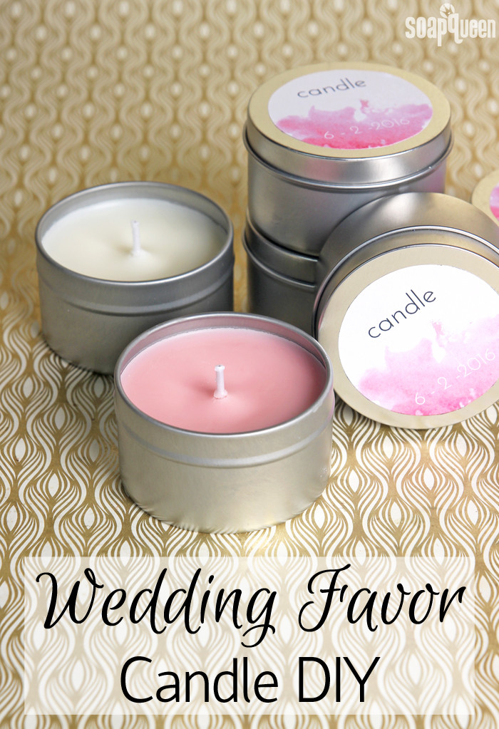 Best ideas about Wedding Favors DIY . Save or Pin DIY Wedding Favor Candles Soap Queen Now.