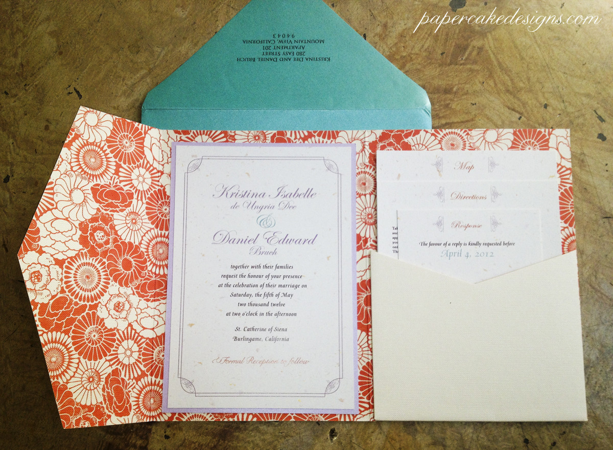 Best ideas about Wedding Invitations DIY . Save or Pin [DIY print & assemble] wedding invitations Now.