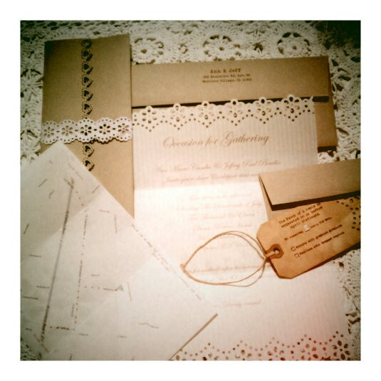 Best ideas about Wedding Invite DIY . Save or Pin DIY Wedding Invitations Now.