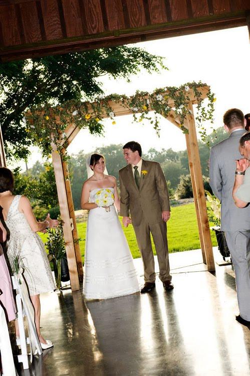 Best ideas about Wedding Trellis DIY . Save or Pin DIY Attempt Wedding Arbor Now.