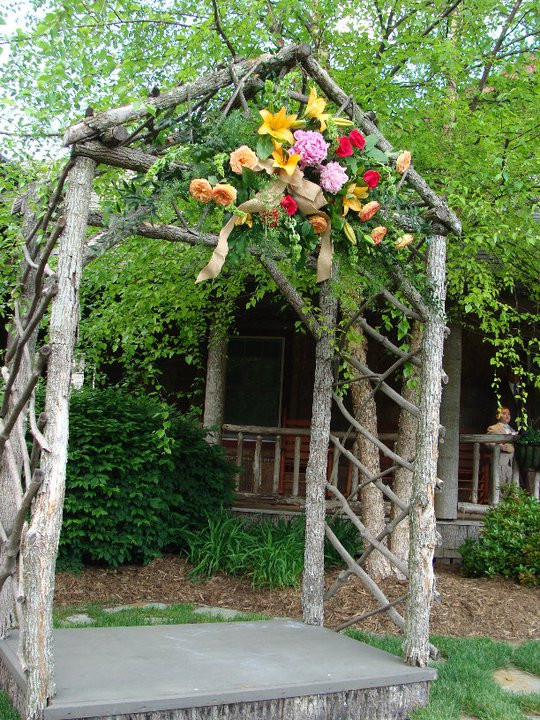 Best ideas about Wedding Trellis DIY . Save or Pin Guest Project — Throw a Rustic Wedding & make a DIY Tree Now.