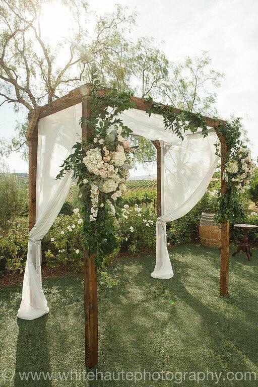 Best ideas about Wedding Trellis DIY . Save or Pin Falkner winery rustic wedding arch … Now.