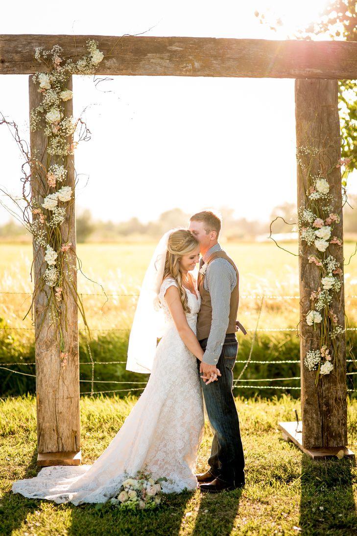 Best ideas about Wedding Trellis DIY . Save or Pin DIY Barn Wood Wedding Arbor Now.