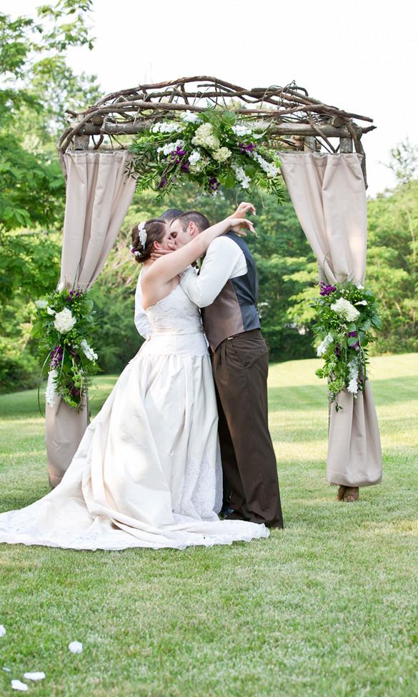 Best ideas about Wedding Trellis DIY . Save or Pin DIY Southern WeddingTruly Engaging Wedding Blog Now.