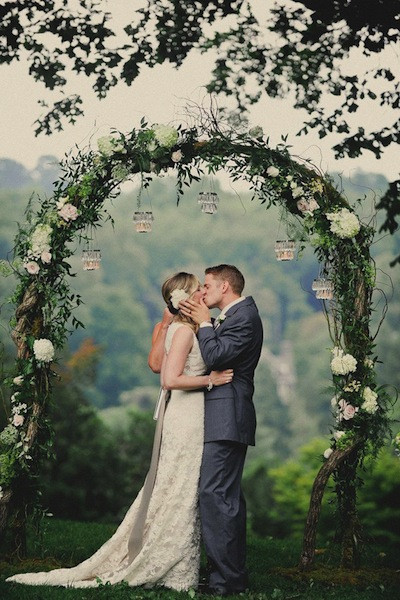 Best ideas about Wedding Trellis DIY . Save or Pin 11 Beautiful DIY Wedding Arches Now.