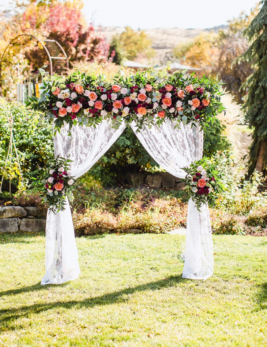 Best ideas about Wedding Trellis DIY . Save or Pin DIY Wedding Arbor From FiftyFlowers Now.