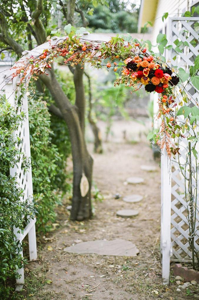 Best ideas about Wedding Trellis DIY . Save or Pin wedding ceremony DIY Florabundance Blog Now.