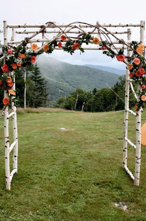 Best ideas about Wedding Trellis DIY . Save or Pin Wedding Arch Arbor Chuppa Now.