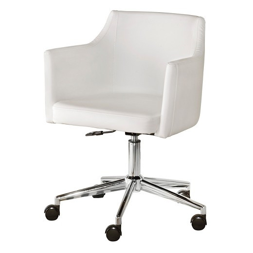 Best ideas about White Desk Chair . Save or Pin Baraga Home fice Swivel Desk Chair White Signature Now.