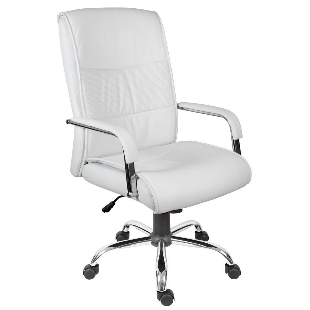 Best ideas about White Desk Chair . Save or Pin Kendal Executive Chair White Now.