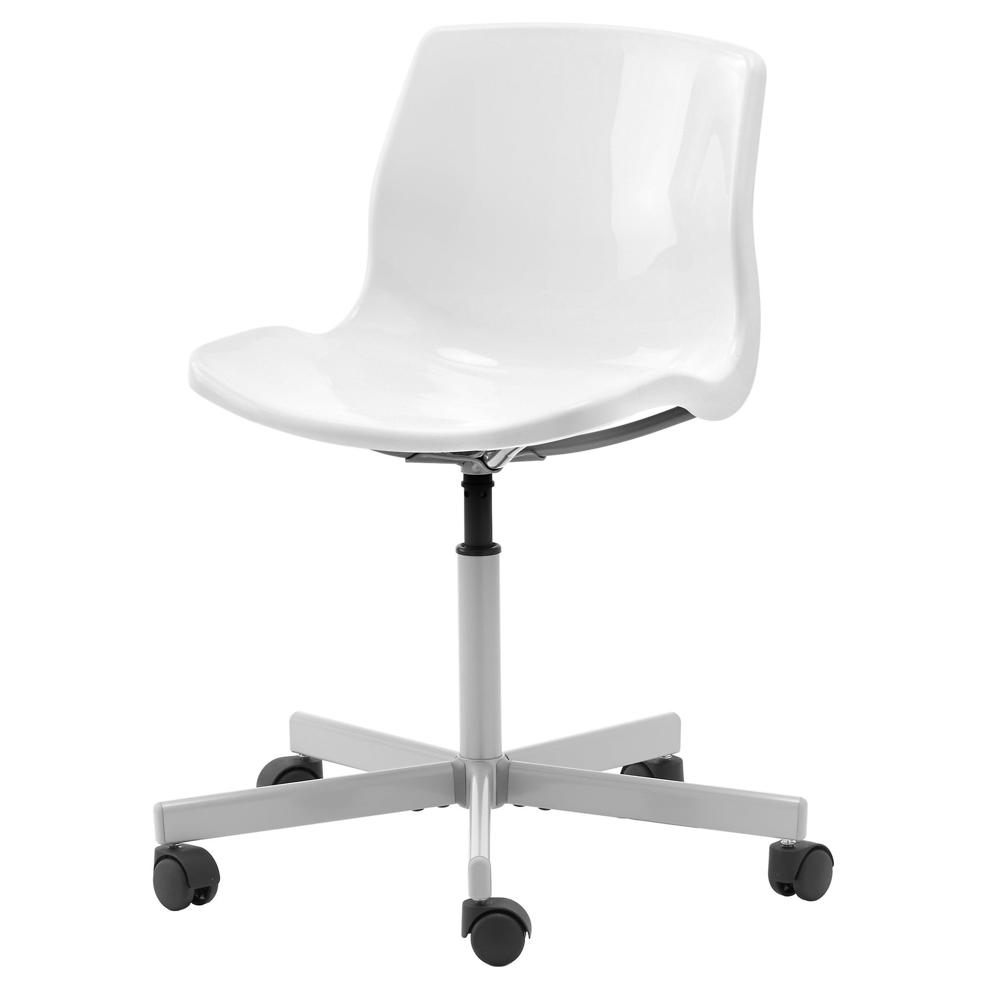 Best ideas about White Desk Chair . Save or Pin SNILLE Swivel chair White IKEA Now.