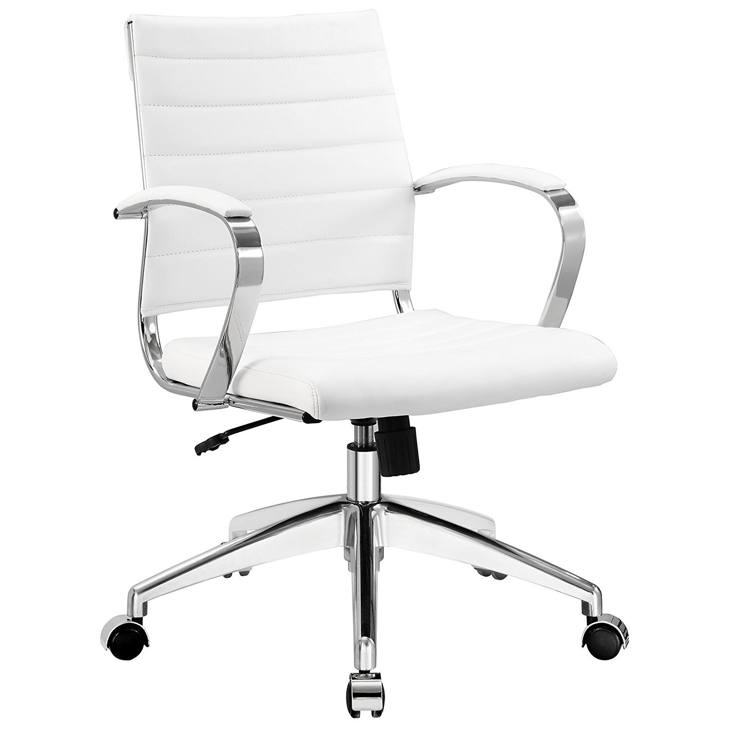 Best ideas about White Desk Chair . Save or Pin White Executive Chair Home Furniture Design Now.