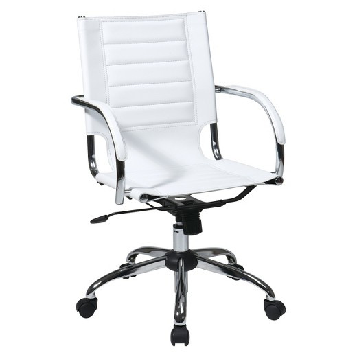 Best ideas about White Desk Chair . Save or Pin Trinidad Desk Chair White fice Star Tar Now.
