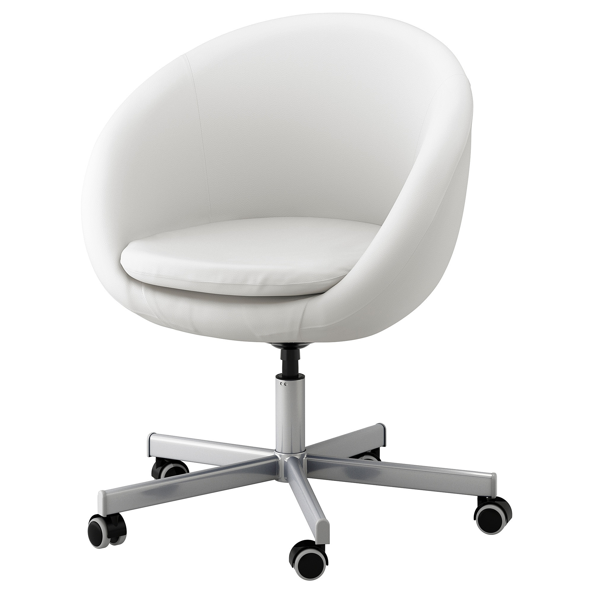 Best ideas about White Desk Chair . Save or Pin SKRUVSTA Swivel chair Idhult white IKEA Now.