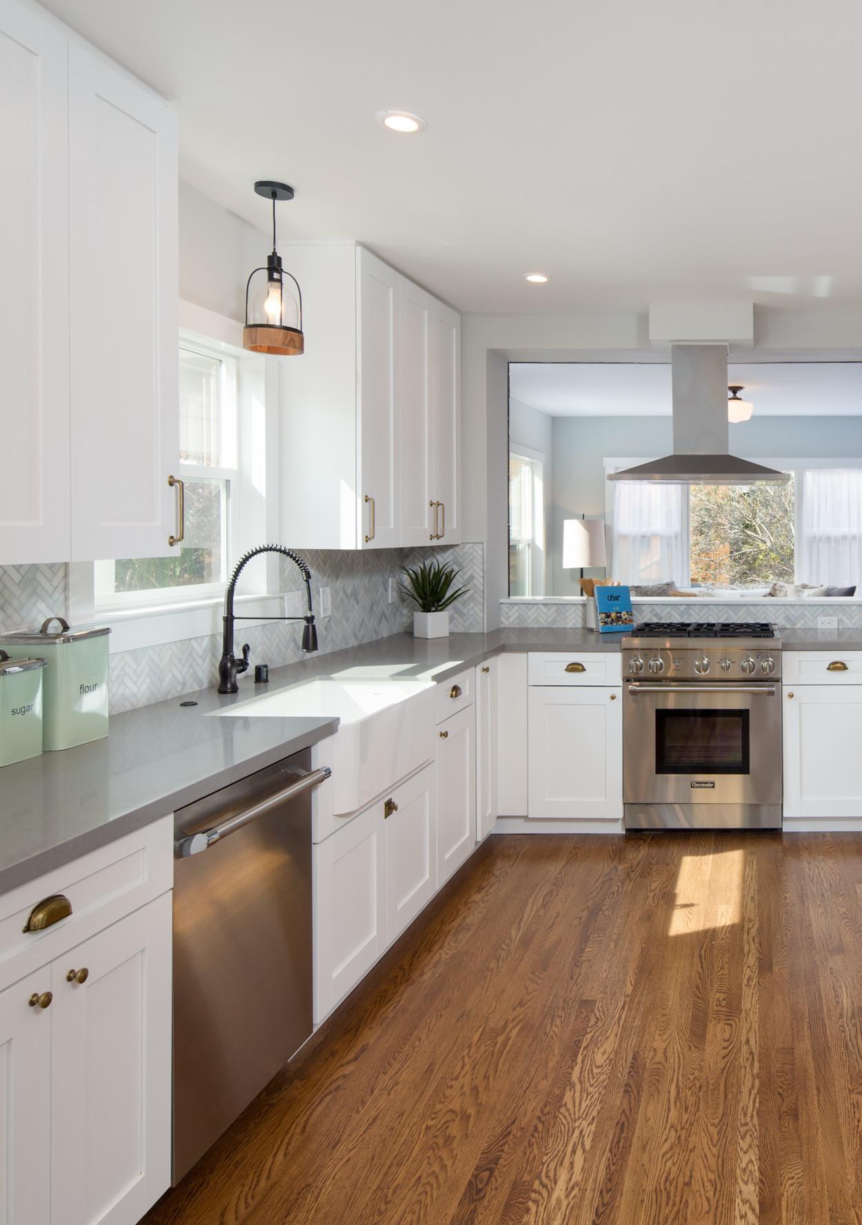 Best ideas about White Kitchen Ideas . Save or Pin Farmhouse Inspired White Kitchen Ideas Now.