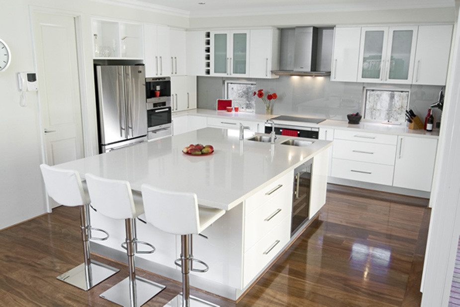Best ideas about White Kitchen Ideas . Save or Pin 20 Beautiful White Kitchen Designs Now.