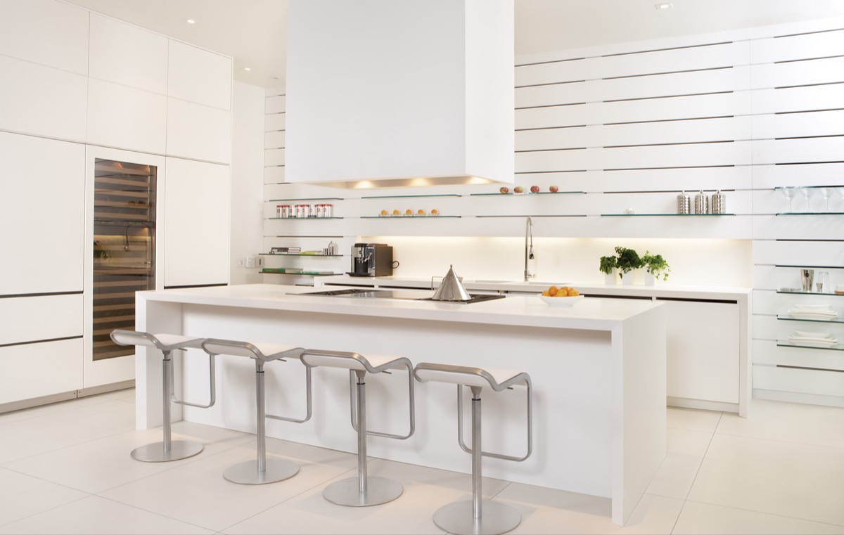 Best ideas about White Kitchen Ideas . Save or Pin 30 Modern White Kitchens That Exemplify Refinement Now.