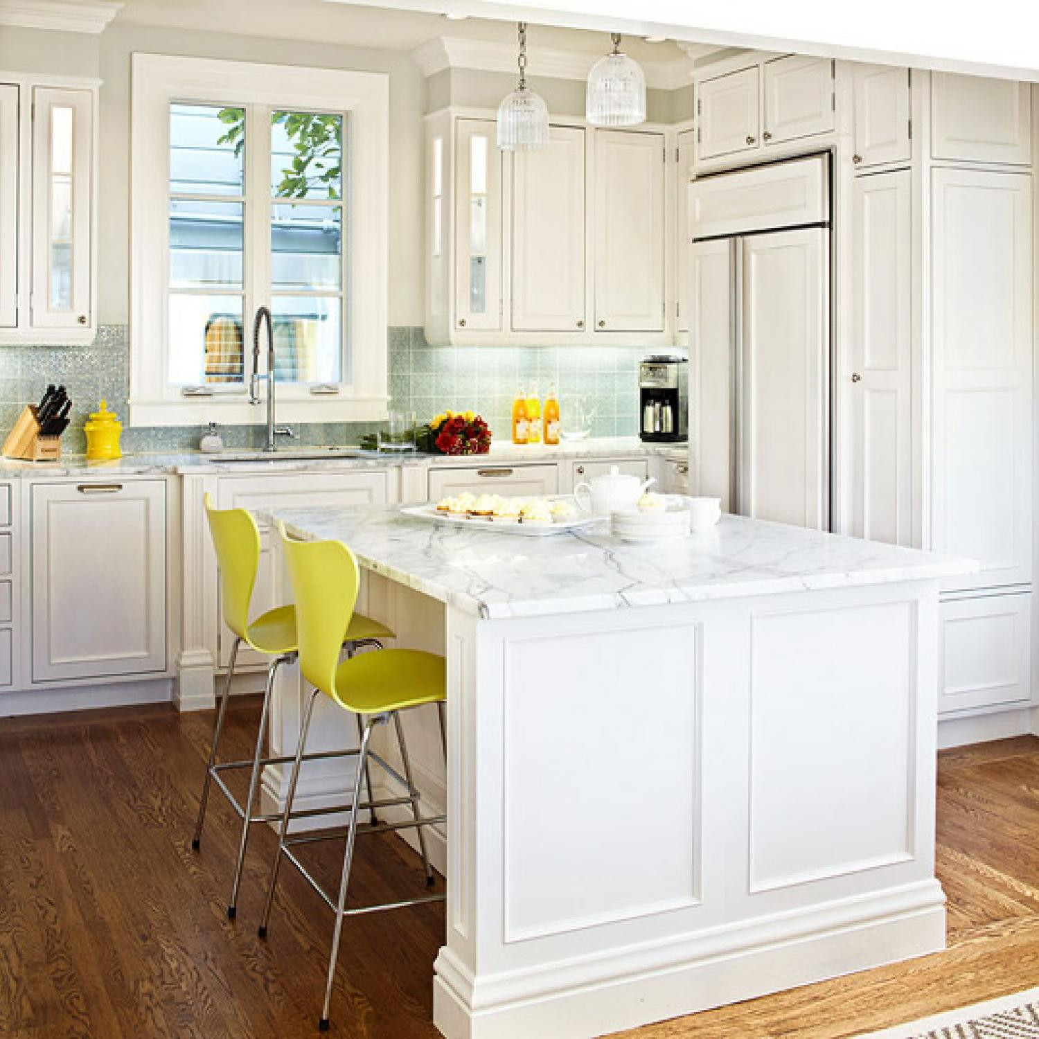 Best ideas about White Kitchen Ideas . Save or Pin Design Ideas for White Kitchens Now.