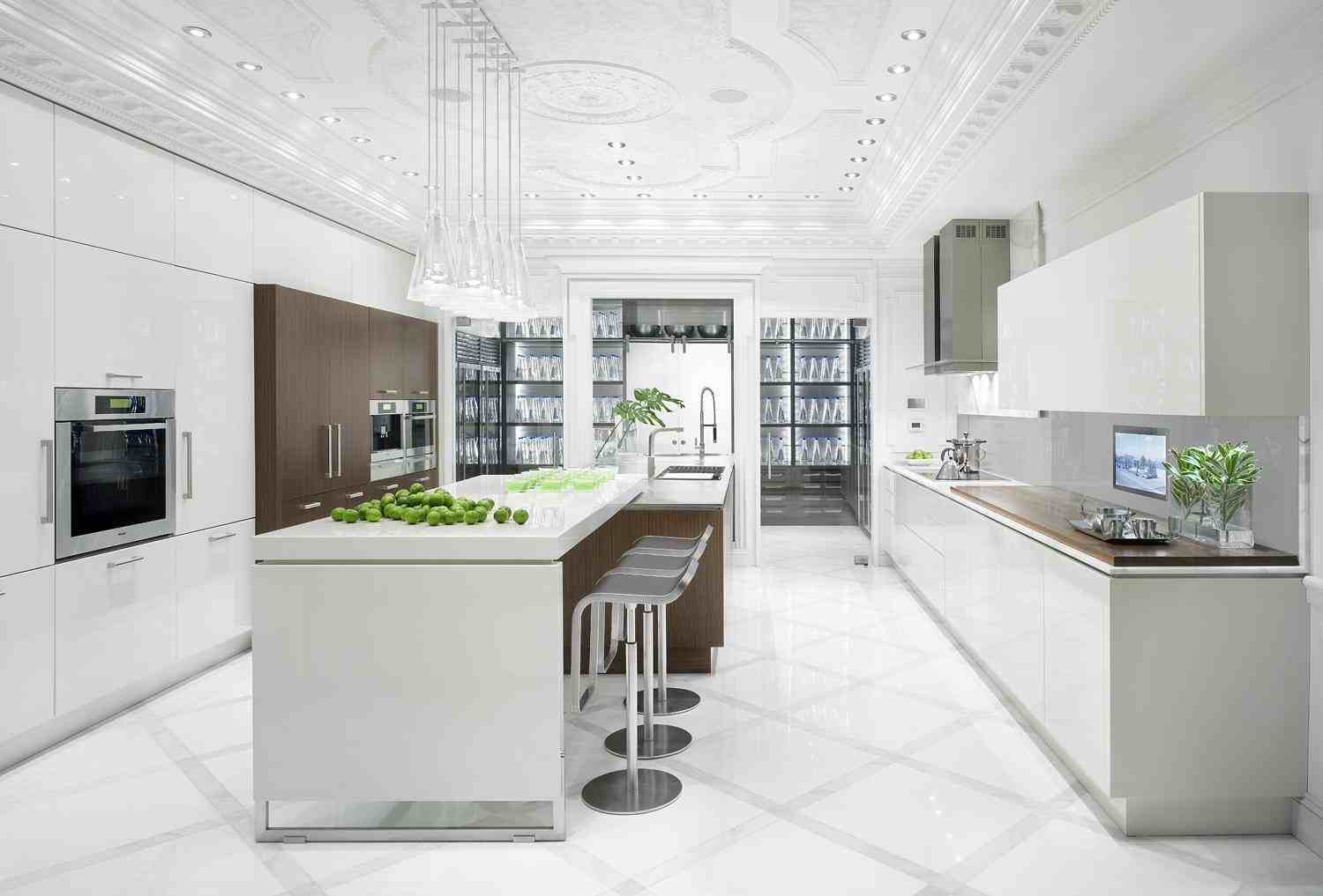 Best ideas about White Kitchen Ideas . Save or Pin Shades of white kitchen Now.