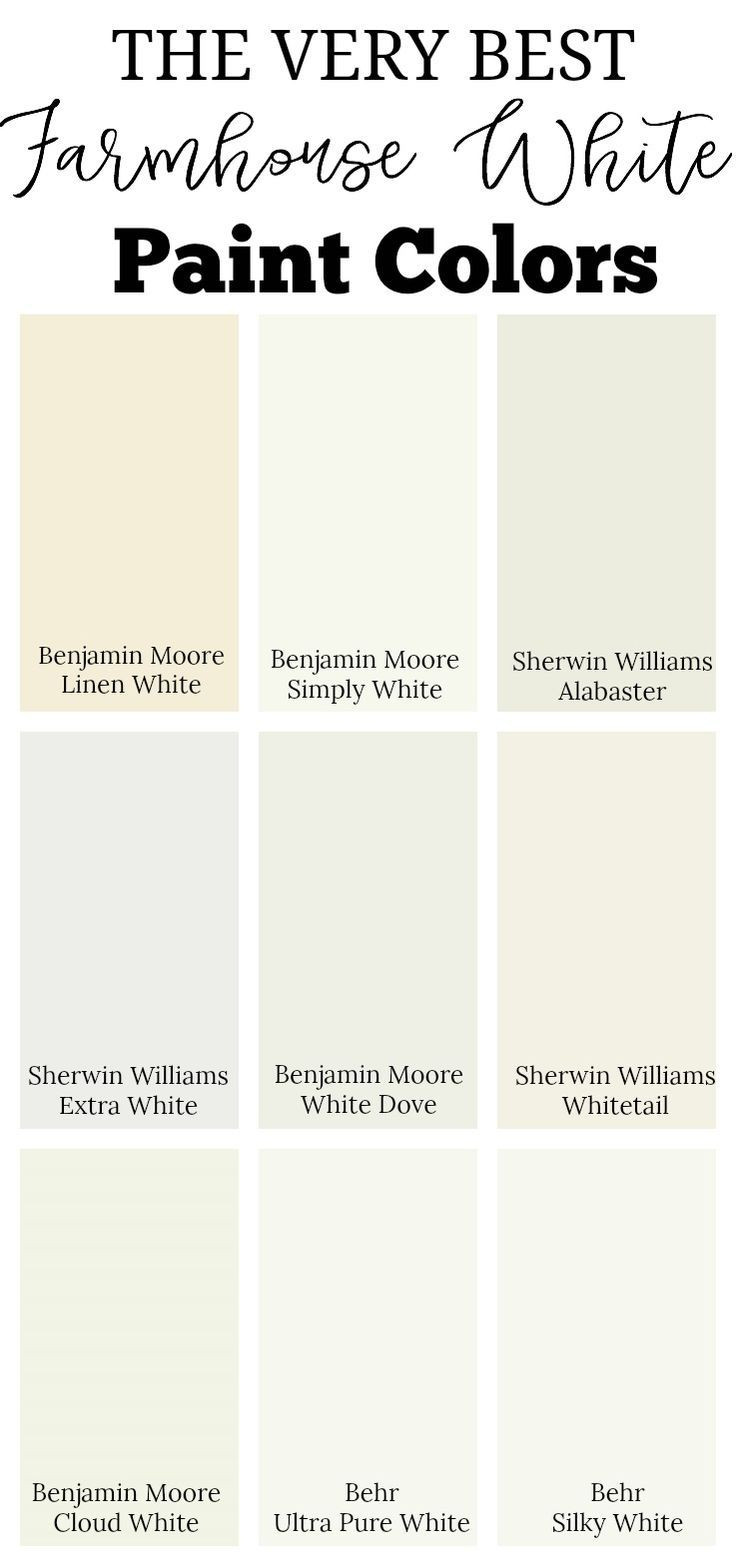 Best ideas about White Paint Colors . Save or Pin Best 25 Farmhouse paint colors ideas on Pinterest Now.