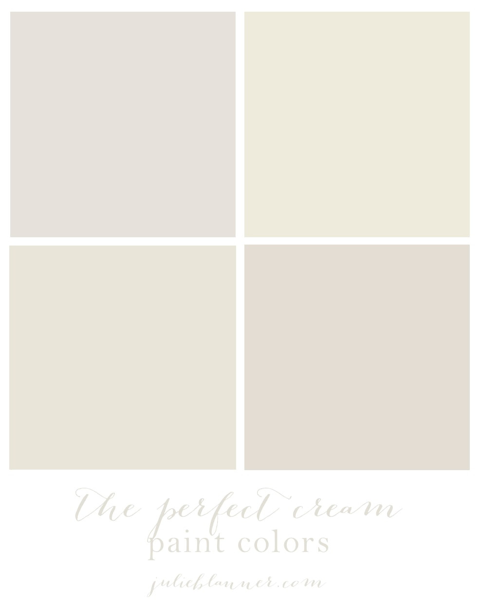 Best ideas about White Paint Colors . Save or Pin The Best Cream Paint Colors Now.