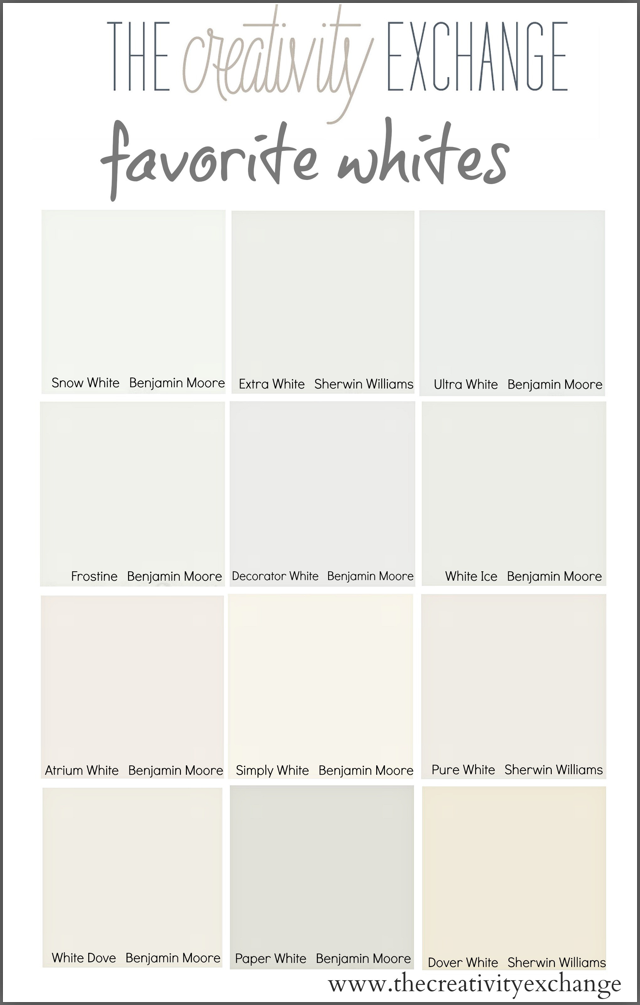 Best ideas about White Paint Colors . Save or Pin Tricks for Choosing the Best White Paint Color Now.