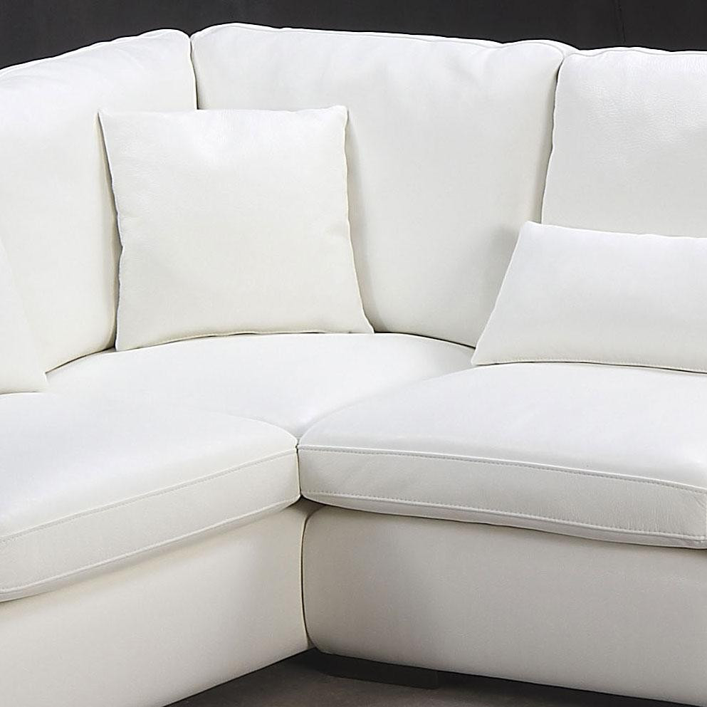 Best ideas about White Sectional Sofa . Save or Pin Living Room fortable White Sectional Sofa For Elegant Now.