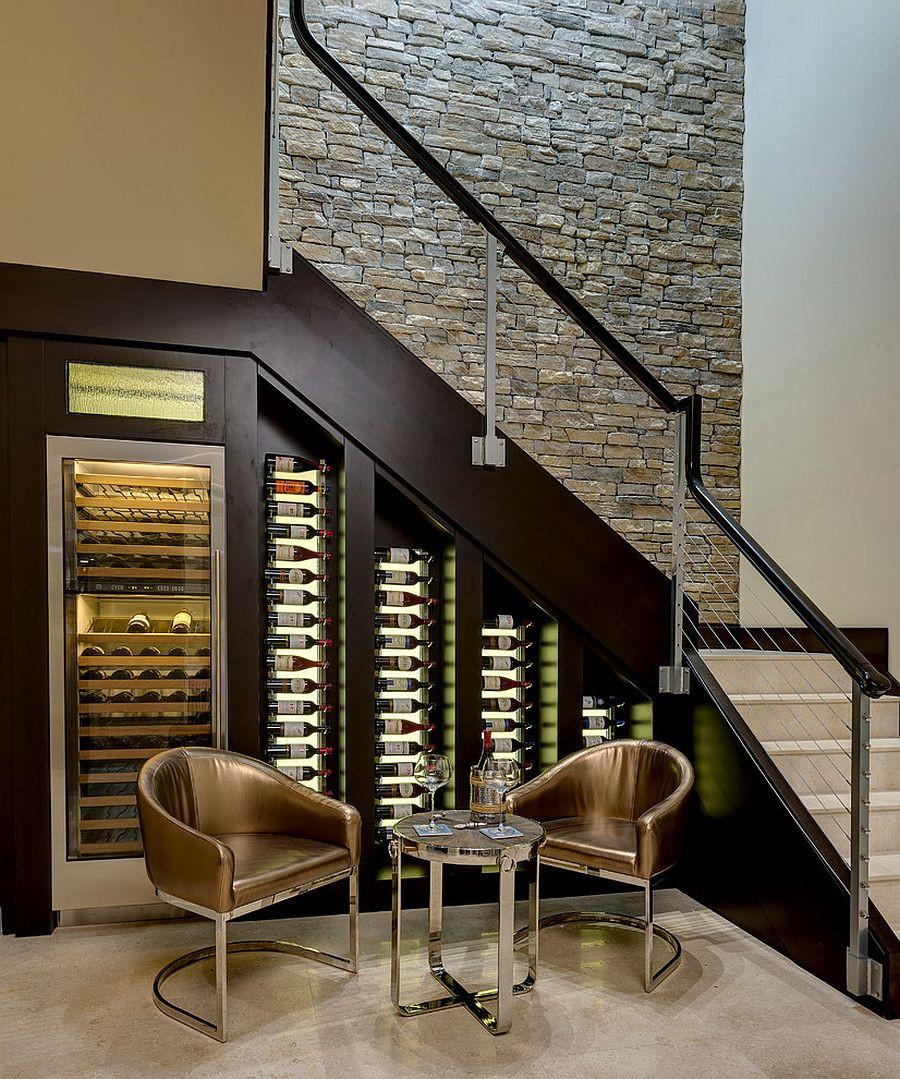 Best ideas about Wine Cellar Under Stairs . Save or Pin 20 Eye Catching Under Stairs Wine Storage Ideas Now.