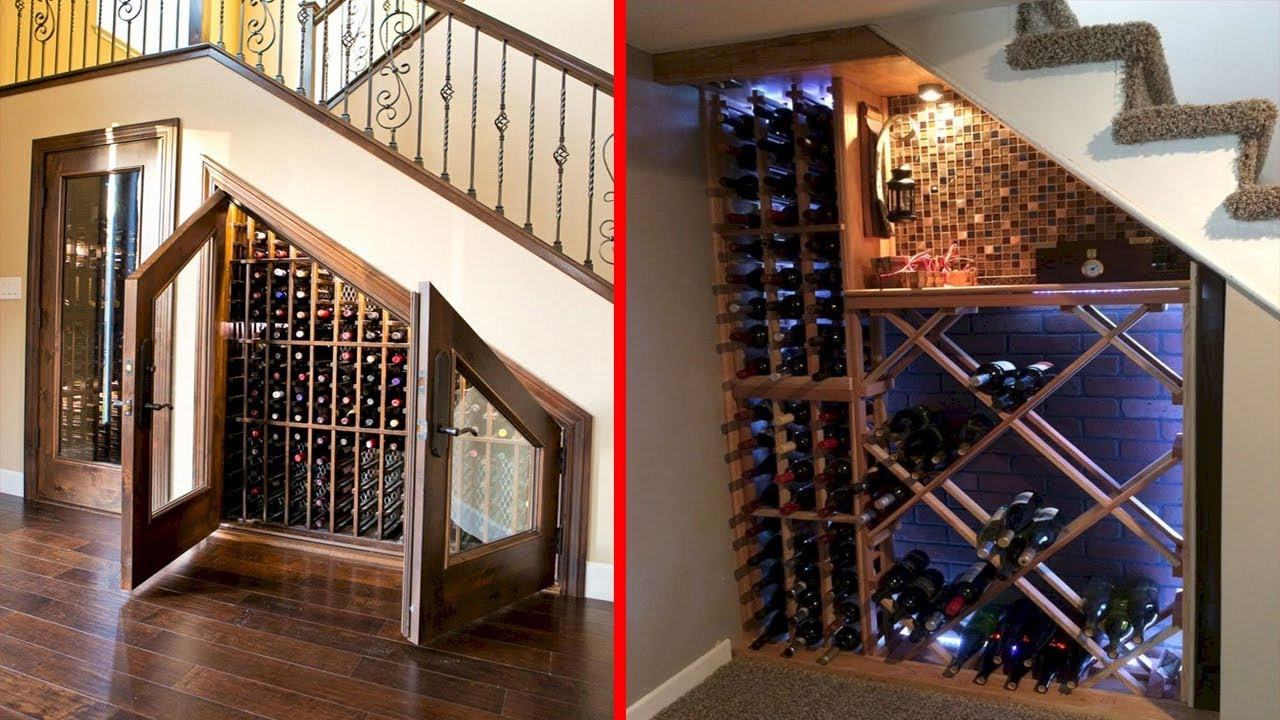 Best ideas about Wine Cellar Under Stairs . Save or Pin Cool Wine Cellar Under Stairs Wine Storage Ideas Now.
