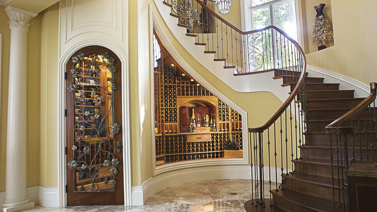 Best ideas about Wine Cellar Under Stairs . Save or Pin Under Stairs Space Design Ideas Wine Cellar Room Ideas Now.