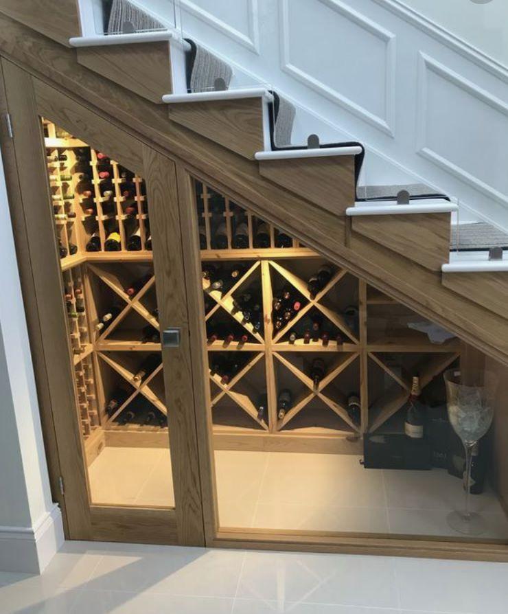 Best ideas about Wine Cellar Under Stairs . Save or Pin Best idea ever Wine cellar under the stairs Now.