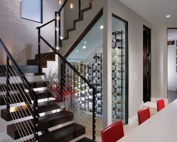 Best ideas about Wine Cellar Under Stairs . Save or Pin Storage Under The Stairs 31 Smart Ideas DigsDigs Now.