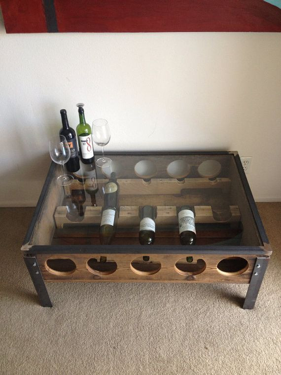Best ideas about Wine Rack Coffee Table . Save or Pin Wine Rack Coffee Table Now.