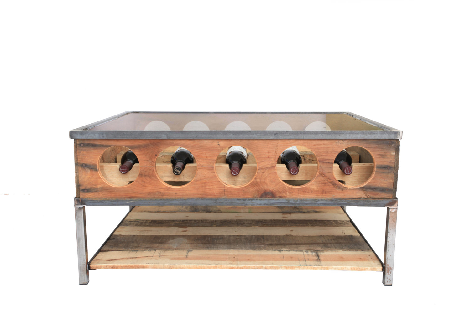 Best ideas about Wine Rack Coffee Table . Save or Pin Wine rack coffee Table on sale Now.