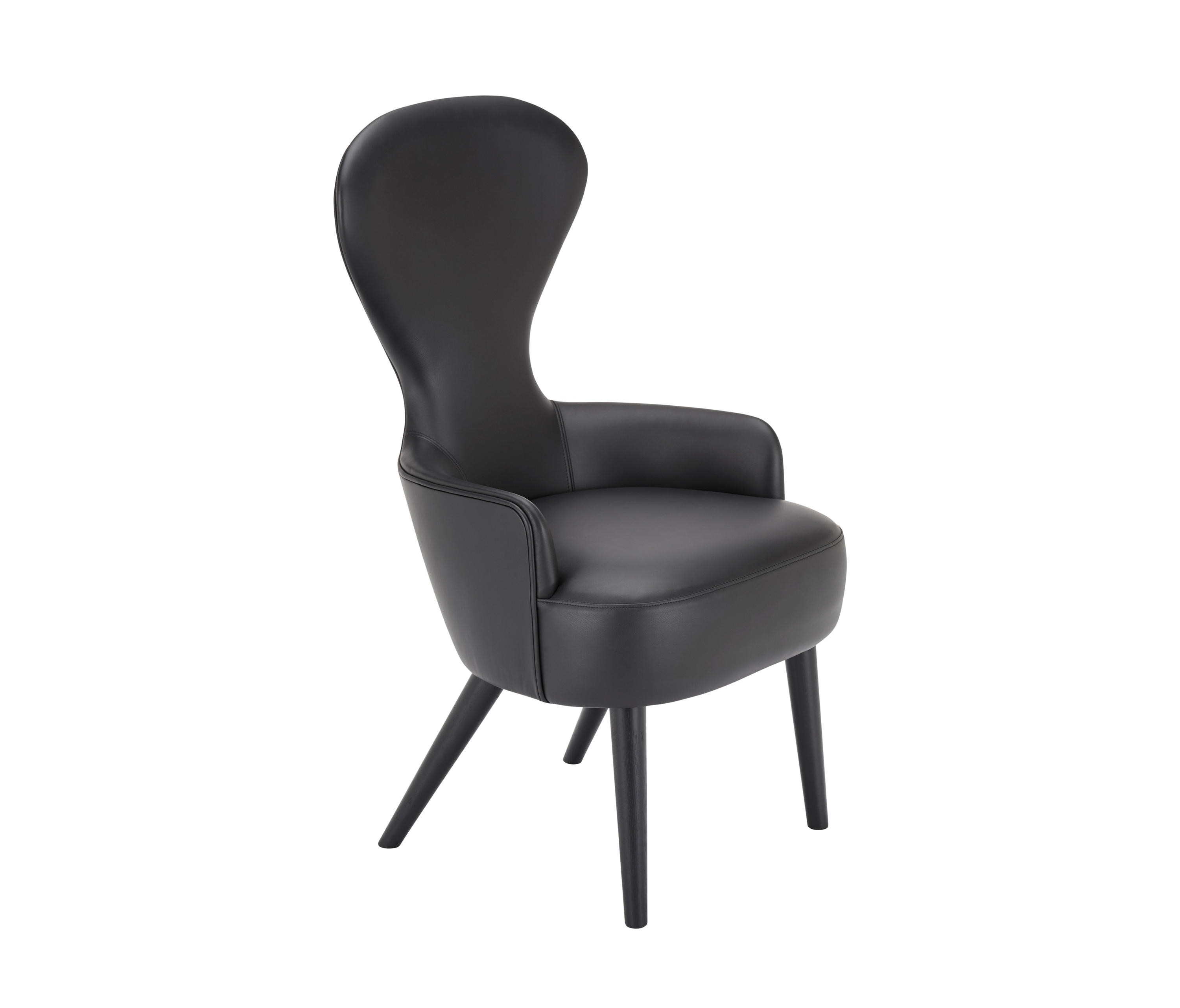 Best ideas about Wingback Dining Chair . Save or Pin WINGBACK DINING CHAIR BLACK LEG ELMOSOFT LEATHER Now.
