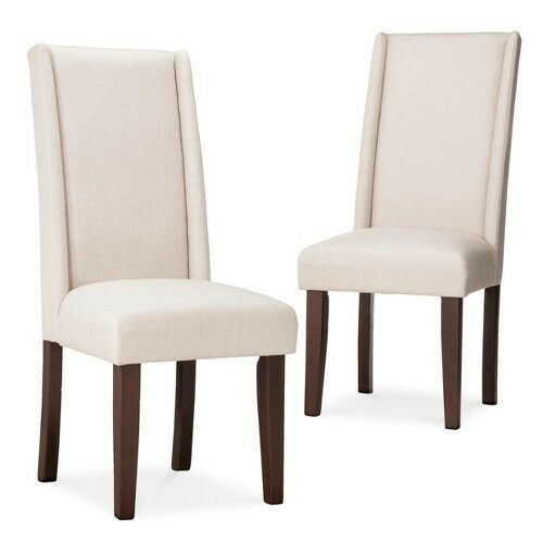 Best ideas about Wingback Dining Chair . Save or Pin Charlie Modern Wingback Dining Chair Beige Set of 2 Now.