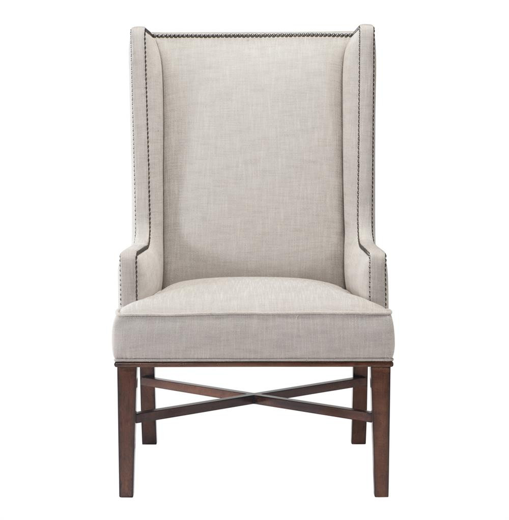 Best ideas about Wingback Dining Chair . Save or Pin Jacqueline Hostess Wing Back Occasional Dining Arm Chair Now.