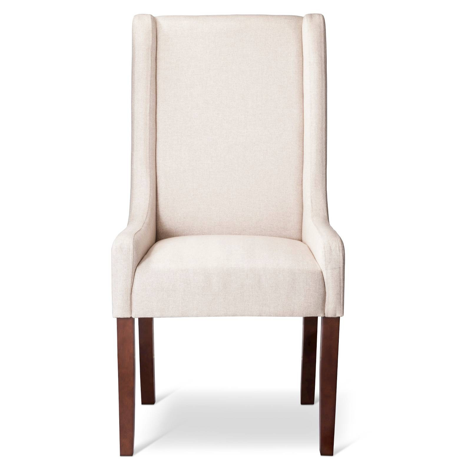 Best ideas about Wingback Dining Chair . Save or Pin Charlie Modern Wingback Swoop Arm Dining Chair Beige 1 Now.